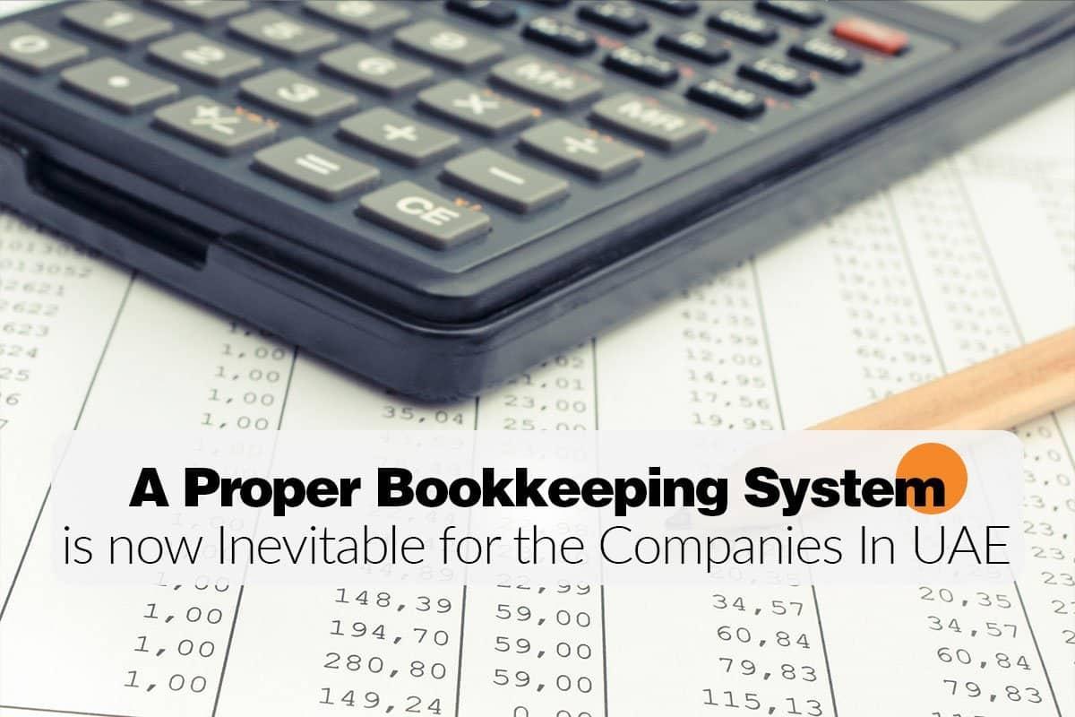 A Proper Bookkeeping System - Blog