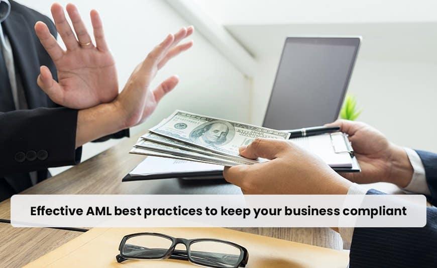 Effective AML best practices